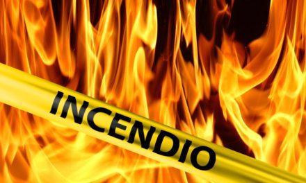 Se incendian nueve autobuses de la OMSA en centro de depósito de la Autopista Duarte