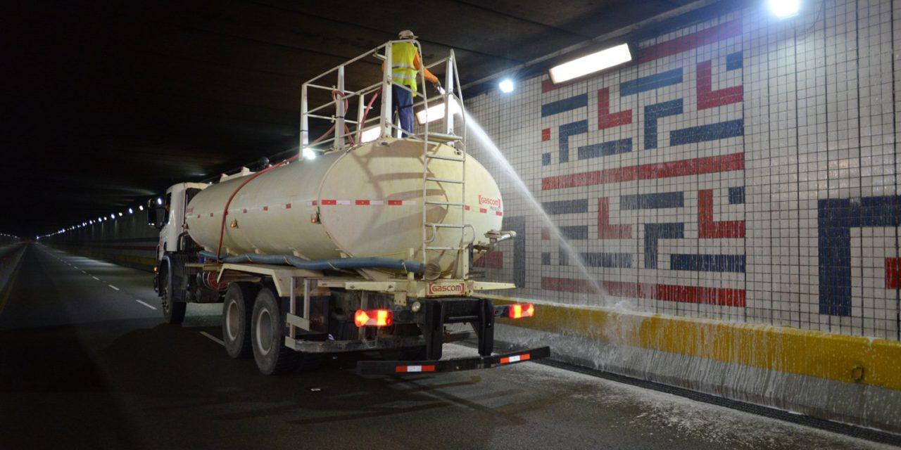 MOPC dispone el cierre por mantenimiento de túneles y elevados en el Gran Santo Domingo