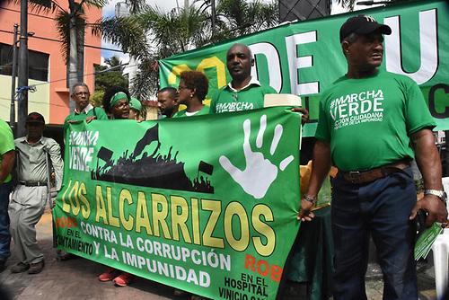 La Marcha Verde se movilizará en Los Alcarrizos el próximo domingo 30, invita a los moradores, Alcarrizos News Diario Digital