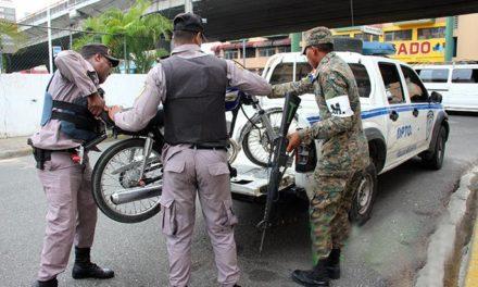 Armada y Policía Nacional requisan a 435,790 motociclistas en menos de cuatro meses