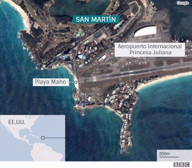Mujer muere por la ráfaga de la turbina de un avión en la isla San Martín, Alcarrizos News Diario Digital