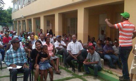 Alcaldía Los Alcarrizos realiza asambleas por presupuesto participativo 2017