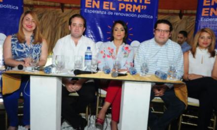 Dirigentes del PRM buscan estimular el liderazgo emergente y renovación política