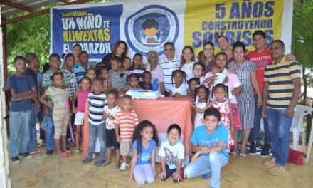 El empresario Víctor Pavón inaugura VI Campamento de Verano en Los Alcarrizos