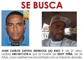 Alegado asesino de Eddy Peña habría matado 3 según reportes de la Policía Nacional y medios