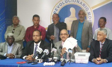 En rueda de prensa PRM Faña presenta nuevas pruebas contra el ministro José Ramón Peralta