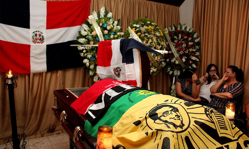 Izquierda denuncia que la muerte de Lantigua Baldera en SFM fue un asesinato selectivo