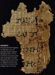 La identificación del papiro 7Q5, Alcarrizos News Diario Digital