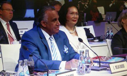 Luisín Mejía fue admitido como miembro del Comité Olímpico Internacional