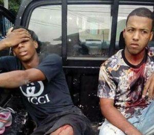 Policía Nacional, detiene, jóvenes asaltantes, Los Alcarrizos, Alcarrizos News Diario Digital