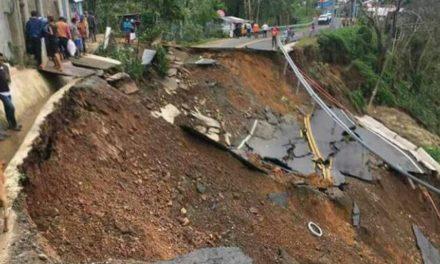 Derrumbe del Hoyo de Cisnero en Miches provoca que lugareños estén incomunicados