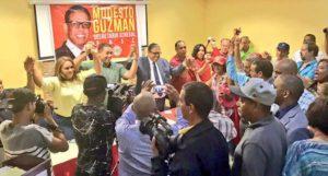 Reformistas de la Línea proclaman a Modesto Guzmán como candidato a secretaría general PRSC, Alcarrizos News Diario Digital
