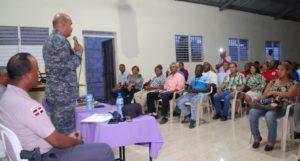 """Director Regional P.N. celebra encuentro """"Proximidad Policial"""" junto a la comunidad, Alcarrizos News Diario Digital"""