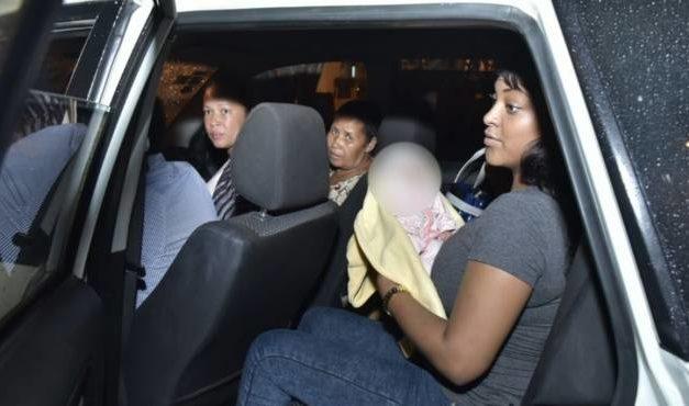 La Policía Nacional rescata bebé raptada de la maternidad La Altagracia