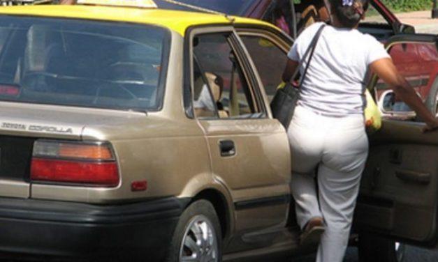 El desorden y el robo en el transporte de pasajeros en Los Alcarrizos