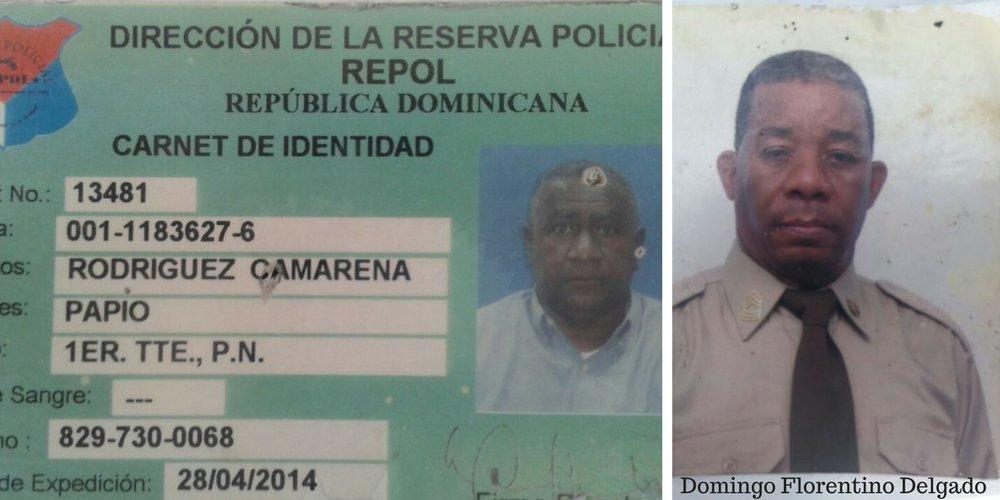 La Policía Nacional identifica los sospechosos de dar muerte a los dos oficiales en Los Alcarrizos