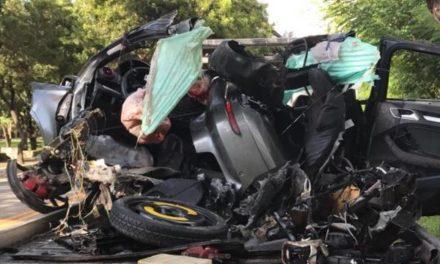 Muere Marino Adrian López Cruz, hijo del dueño de Adrian Tropical en aparatoso accidente de tránsito