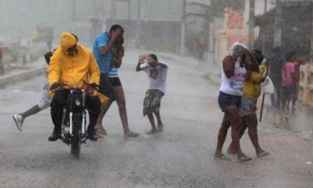 ONAMET pronostica aguaceros para todo el día; se mantienen los avisos y alertas