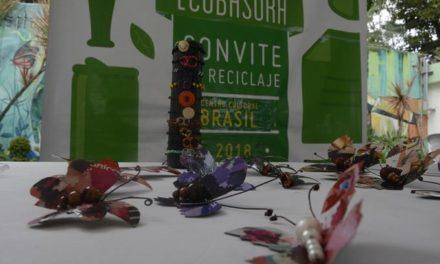 Centro Cultural de Brasil imparte taller sobre reciclaje de desechos sólidos