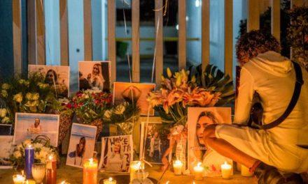 Velones y canciones para recordar a Andreea y pedir justicia por su muerte