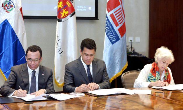 MINERD y Alcaldía del DN suscriben acuerdo