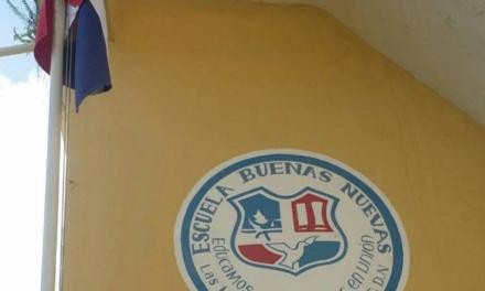 Estudiantes escuela Básica Buenas Nuevas, Exigen nuevo plantel