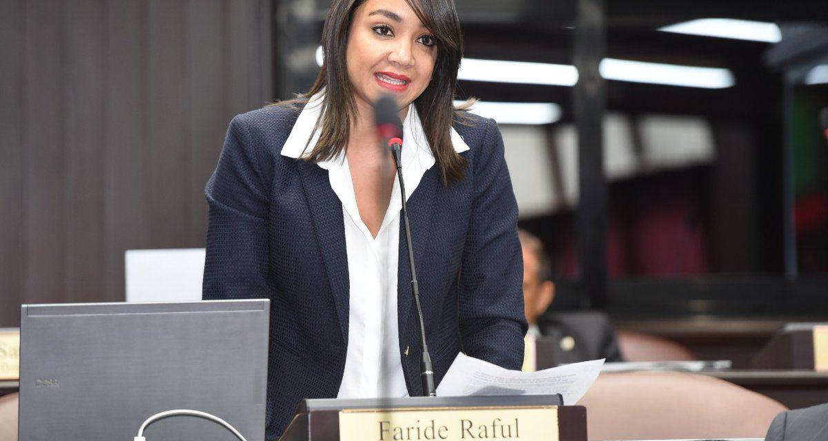 Diputada Faride Raful y los ataques y apoyo que recibe por su postura sobre la Biblia