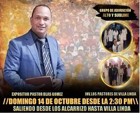 Pastores unidos de Villa Linda y Hato Nuevo convocan a marcha evangelística en Los Alcarrizos