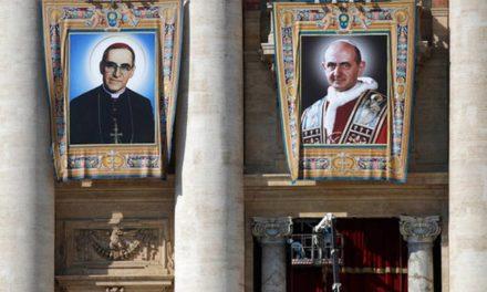 Hoy canonizaron a Oscar Arnulfo Romero y a Pablo VI