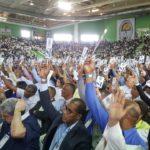Convención ratifica a Miguel Vargas presidente del PRD y Junior Santos como secretario
