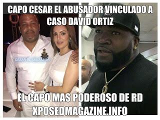 Vinculan al atentado a David Ortiz al capo más poderoso de RD: César El Abusador