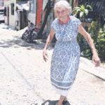 Doña María Veloz celebra sus 100 años en medio de la fe y buena alimentación