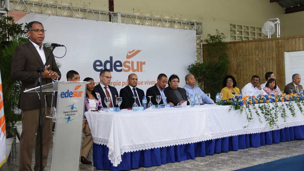 EDESUR continúa ampliación servicio 24 horas incluyendo otros sectores de Los Alcarrizos