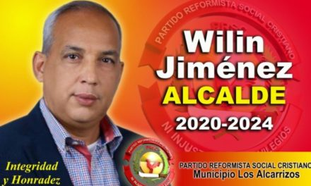 Vaticinan que Wilin Jiménez a partir del 16 de febrero del 2020 será el próximo alcalde de Los Alcarrizos
