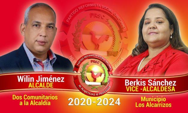 """Wilin Jiménez y Berkis Sánchez acaparan la simpatía de los alcarricenses con su boleta """"impecable"""""""