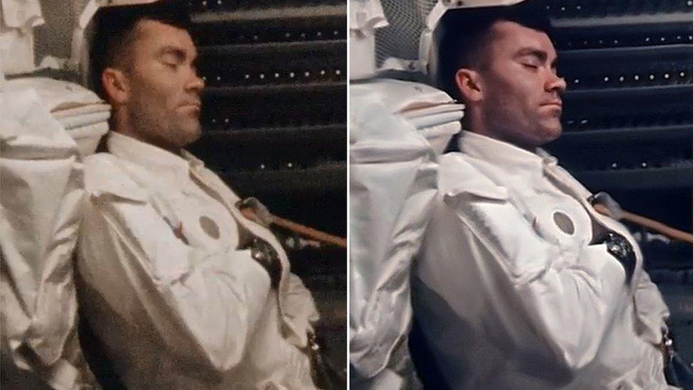 Astronauta dormido
