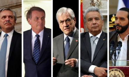 La gestión del coronavirus impacta en la popularidad de los presidentes de América Latina