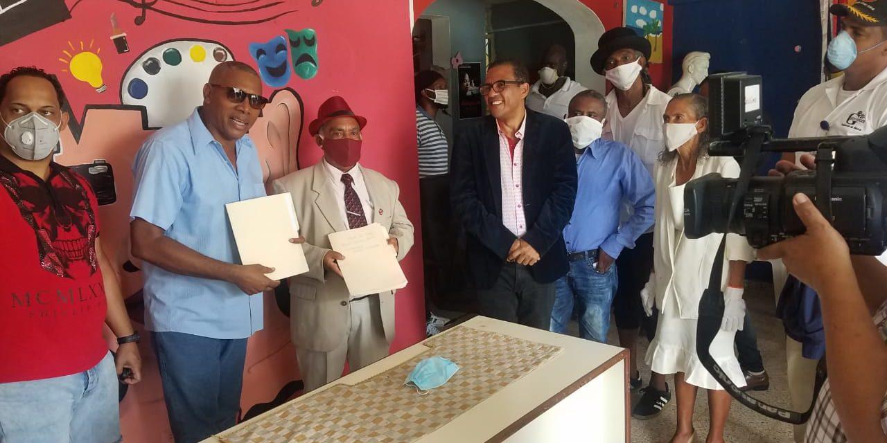 Celebran apoyo cultural a favor de la alcaldía del municipio de Los Alcarrizos