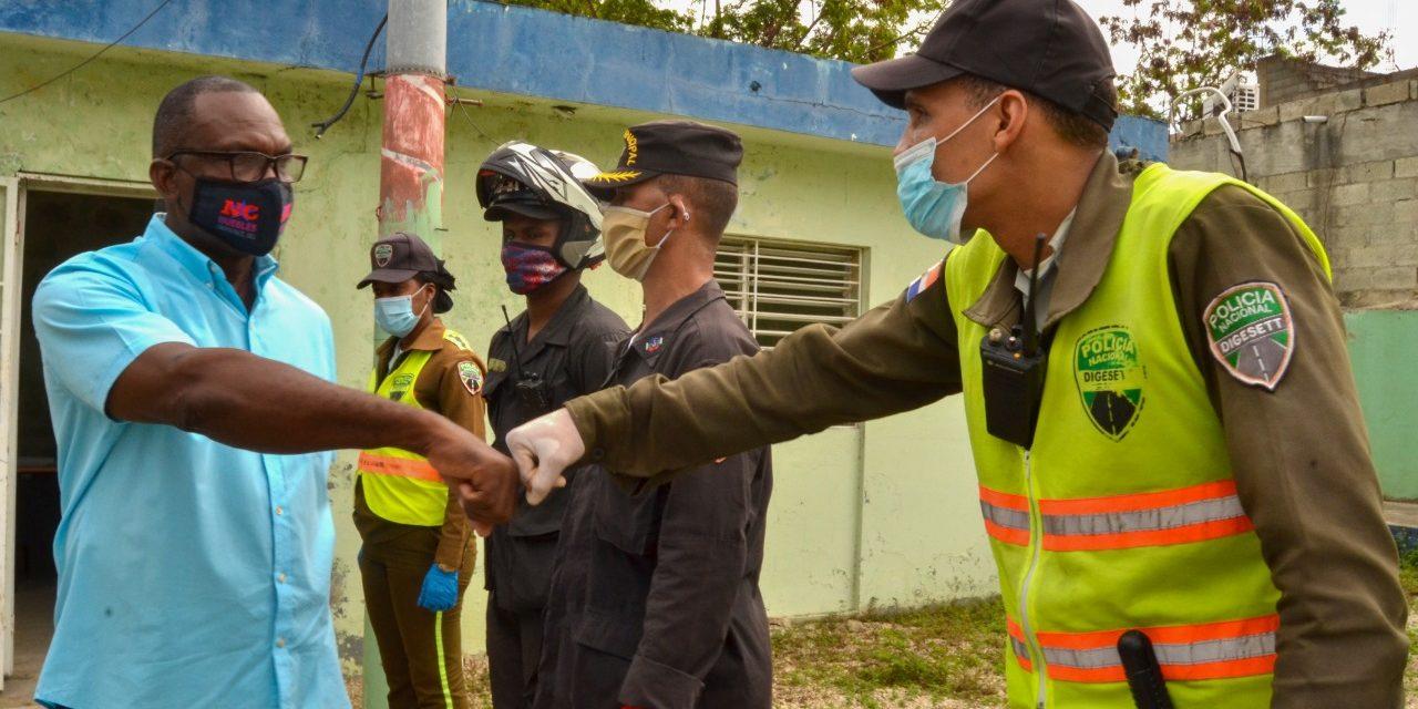 Digeset y Policía Municipal coordinan para trabajar unidos contra el caos del transporte