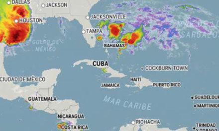 Condiciones generales de buen tiempo sobre gran parte del país, algunos chubascos