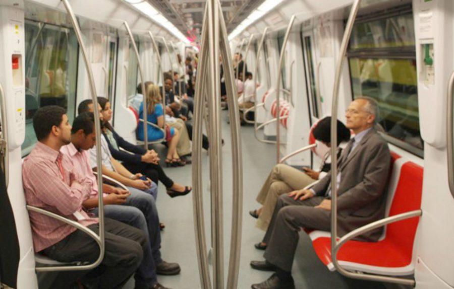Opret señaliza el metro para cumplir con el distanciamiento social ante apertura