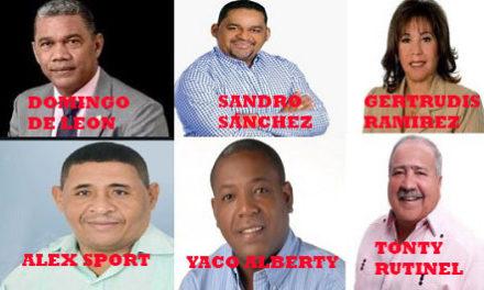 Diputados electos y reelectos por Los Alcarrizos y Pedro Brand