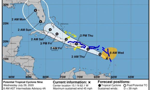 COE eleva alerta amarilla a 10 provincias y al Gran Santo Domingo; y verde a otras 8