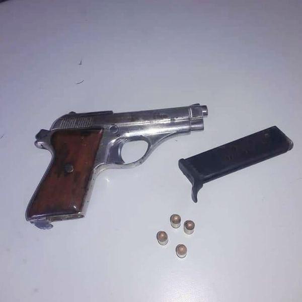 Arma ilegal, Alcarrizos News, Diario Digital