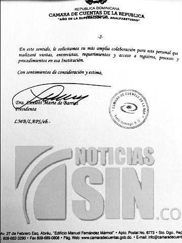 Firma Licelot Marte, Alcarrizos News, Diario Digital