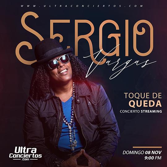 """Todo listo para el concierto Toque de Queda de Sergio Vargas vía """"streaming"""""""