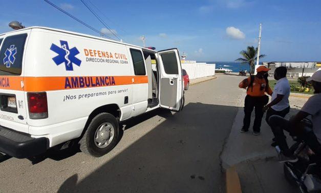 Dirección de Gestión de Riesgos brinda seguridad a quienes visitan playa Boca Chica