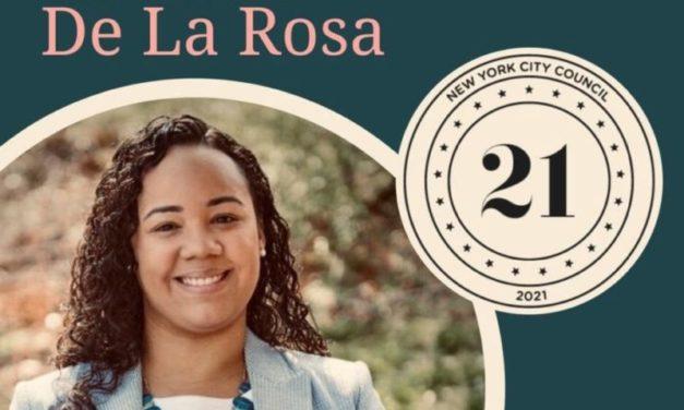 La dominicana Carmen de La Rosa recibe el respaldo para concejal por el distrito 10 N.Y.