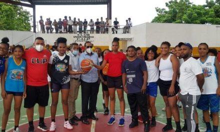 El C.U.P. de Los Alcarrizos deja inaugurado inicio de su torneo de baloncesto femenino