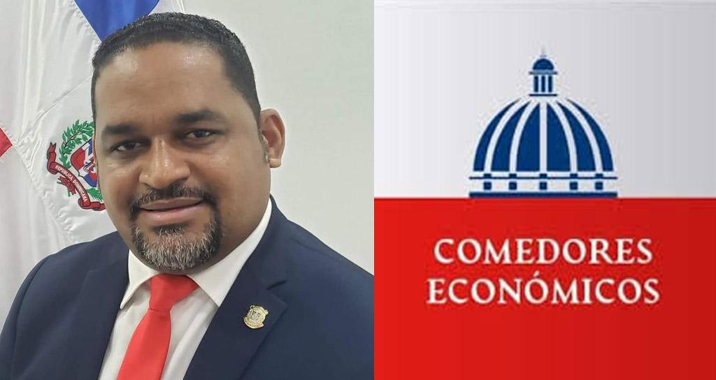 El diputado Sandro Sánchez gestiona comedores económicos para Pedro Brand